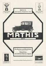 Mathis automobile oeuvres strasbourg alsace stockholm Braunbeck moteur plaque a2 488