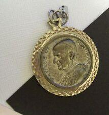 Vintage Pope Paulus VI Metal Pendant