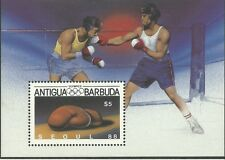 Antigua 1987 - Sports Summer Olympic Games Seoul 88 Boxing Glove - Sc 1052 MNH