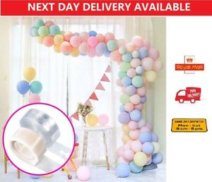 5M Balloon Arch Garland Kit Birthday Wedding Baby Shower Hen Party Tape Strip