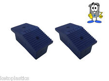 PACK OF 10 - 60MM X 25MM REPLACEMENT LADDER FEET / STEP LADDER FEET