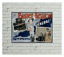 Buster Keaton The General Movie Poster Print Art - No Frame