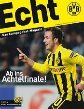 Programm | 2012-2013 | Borussia Dortmund v Manchester City | Champions League