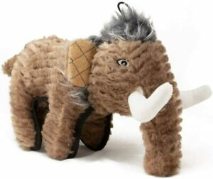 SteelDog Ruffian Mammoth Dinosaur Dog Toy Premium Tough Plush