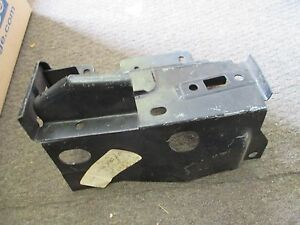 NOS 1974 75 76 FORD GRAN TORINO SPORT HOOD LATCH SUPPORT BRACKET