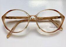 YSL YVES SAINT LAURENT ATREE Eyeglasses Lunette Brille Occhiali Gafas VTG