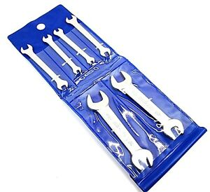 Double Open Ended Spanner 6pc BA Sizes Wrench Set SP146