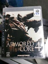 Armored Core 4 (Sony PlayStation 3, 2006) - Japanese Version