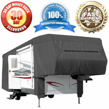 Waterproof Cover 5th Wheel Travel Trailer RV Motorhome Camper