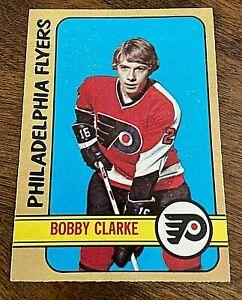 1972-73 O-Pee-Chee #14 Bobby Clarke Philadelphia Flyers NM or better  SET BREAK