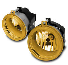 TOWN COUNTRY AVENGER CHARGER PACIFICA COMPASS BUMPER FOG LIGHTS SET YELLOW PAIR