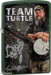 Turtleman Zippo Lighter ZPTM2 BANJO BRAND NEW Great Gift Idea! Fathers Day