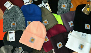 CARHARTT ACRYLIC WATCH BEANIE - ASSORTED COLOURS - 100% AUTHENTIC