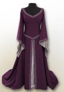 New Women Medieval Party Dress Halloween Costume Renaissance Cosplay Fancy Dress