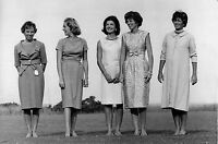 LES FEMMES DU CLAN KENNEDY , PHOTO ET COPYRIGHT BY JACQUES LOWE CIRCA 1962