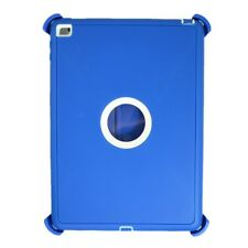 Defender Case For iPad Air 2 Triple Layer (Stand fits Otterbox) Sky Blue White
