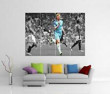 KEVIN DE BRUYNE MANCHESTER CITY FC FOOTBALL GIANT WALL ART PHOTO PRINT POSTER