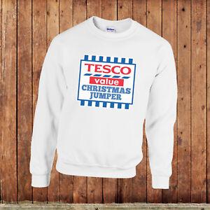 Tesco Value christmas jumper, unisex, S-XXL, funny ugly xmas sweater
