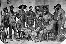 New 5x7 Civil War Photo: Exchanged Prisoners of the 19th Iowa Infantry