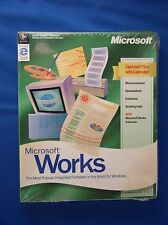 Microsoft WORKS ver. 4.5 Windows 95 or later on CD in original sealed packaging
