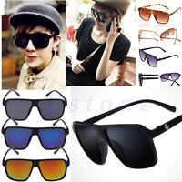 Men's Vintage UV400 Outdoor Sunglasses Sports Retro Eyewear Driving Eye Glasses