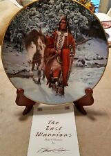 Hamilton Last Warriors Plate Collection - Winter of '41 with Certificate (1993)