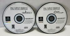 Final Fantasy Chronicles - Black Label - (Ps1) Discs Only Tested