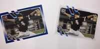 2 Cards! 2021 TOPPS SERIES 1 CODI HEUER BLUE PARALLEL & BASE RC #311 White Sox