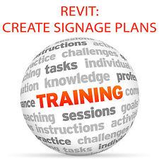 In REVIT creare segnaletica piani-Video formazione tutorial DVD