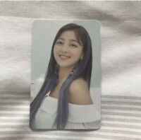 Twice Jihyo BDZ Repackage Limited Photocard