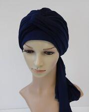 Turban snood, full turban, volume head wrap, head covering , chemo head wear