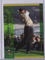 Tiger Woods 2001 Upper Deck Defining Moments Golf Card Rc Rookie