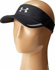 NEW! Under Armour Mens UA Shadow AV Visor-Black/Reflective Silver OSFA