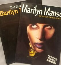 Marilyn Manson The Unauthorized Biography and The Story Of Marilyn Manson Lot