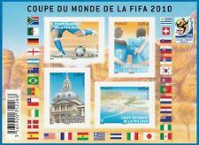 BLOC COUPE DU MONDE DE LA FIFA 2010  (4 TIMBRES ) 2010