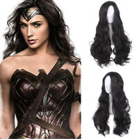 Details about  /NWT Wonder Woman Foil Satin Corset with Skirt Costume