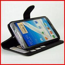Bolso para Samsung Galaxy Note 2 n7100 note 2 imitación cuero, funda protectora, funda Stand