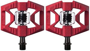 Crank Brothers Double Shot 1 Bike Pedals - RED -- NEW