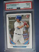 ALEX VERDUGO 2014 Bowman Draft #59 PSA MINT 9 RC Dodgers
