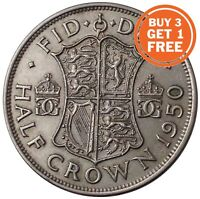SILVER HALF CROWN GEORGE VI COIN CHOICE OF YEAR 1937 TO 1951