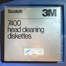 3M 7400 head cleaning diskettes for 8