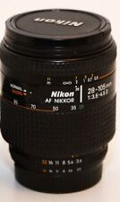 Nikon AF 28-105 mm F 3.5-4.5 D Objectif Pour Nikon D5300 D90 D600 D800 D3300 D3100 D80