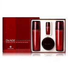 CHARMZONE DeAGE CRD RED Emulsion Toner Nutrient Cream Essence Set 4 FreeTracking