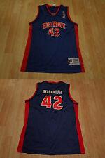 Youth Detroit Pistons Jerry Stackhouse L (14/16) Champion Vintage Jersey(Blue) J