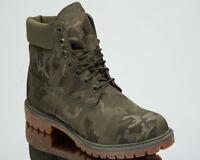 Timberland 6 Inch Premium Fabric Waterproof Boots Men's Grape Leaf High A1U9I