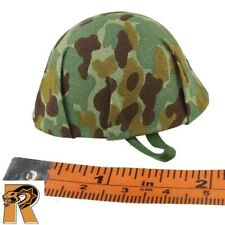 WWII Flame Gunner - Camo Helmet #2 - 1/6 Scale - SOW Action Figures
