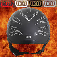 2 DOT Helmet Decals Motorcycle Replacement Vinyl Stickers D.O.T. Bike Regulation