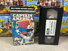 (Used) Vintage VHS Tape - 1993 Hollywood Matinee Marvel CAPTAIN AMERICA TV Show