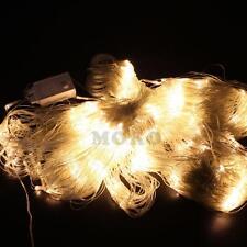Warm White 4Mx6M 880LED Net Mesh Lights Christmas Wedding Party Garden Hedge