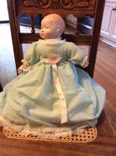 Vintage porcelain faced bay doll fully dressed B1